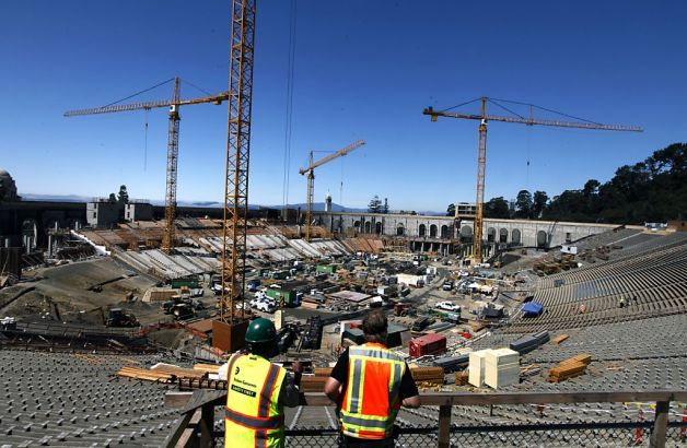 Site photo from SFGate, August, 2011